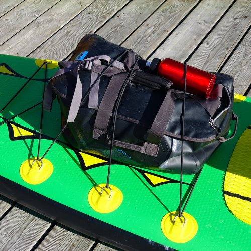 "Adventure Row 13'4"" Inflatable SUP, Camping, Backpack, Stand Up Paddle Board, Oar Board, Whitehall Rowing & Sail"