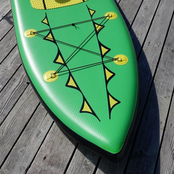 Attention to the details, Fitness Row 12' Inflatable SUP, Oar Board, Whitehall Rowing & Sail