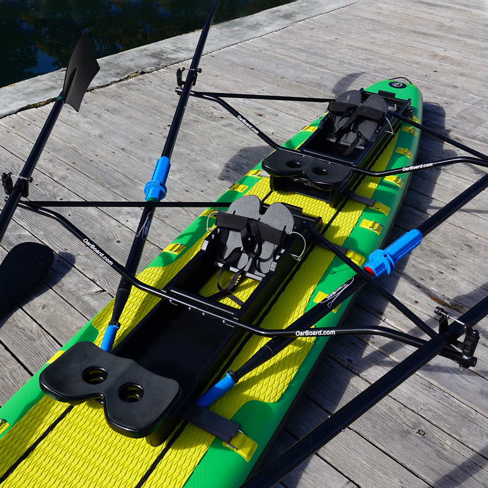 Oar Board® SUP Fit On Top Rower, Whitehall Rowing & Sail