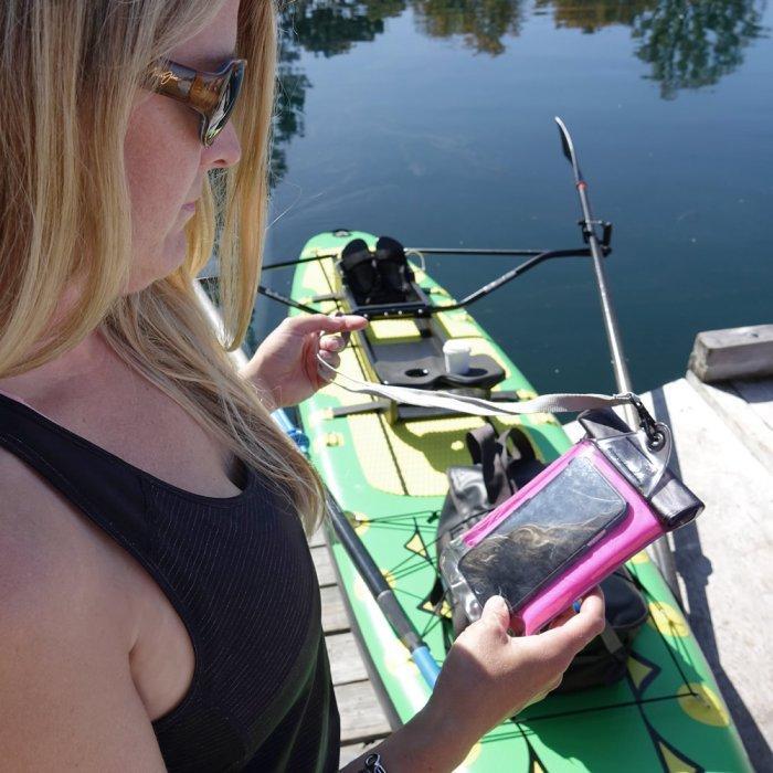 Waterproof Phone Pouch, Accessories, Oar Board, Whitehall Rowing & Sail