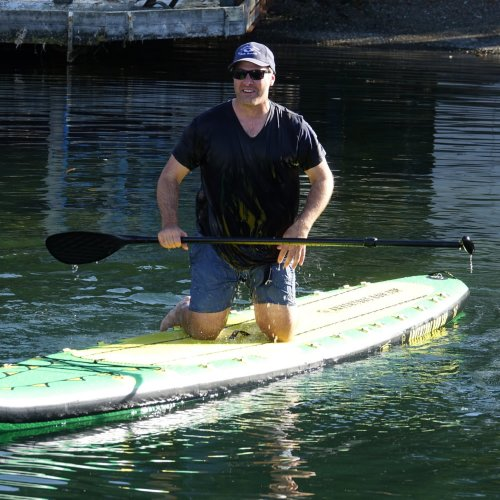 Adjustable Length Carbon Fiber Standup Paddle, Buy Now from Whitehall Rowing & Sail