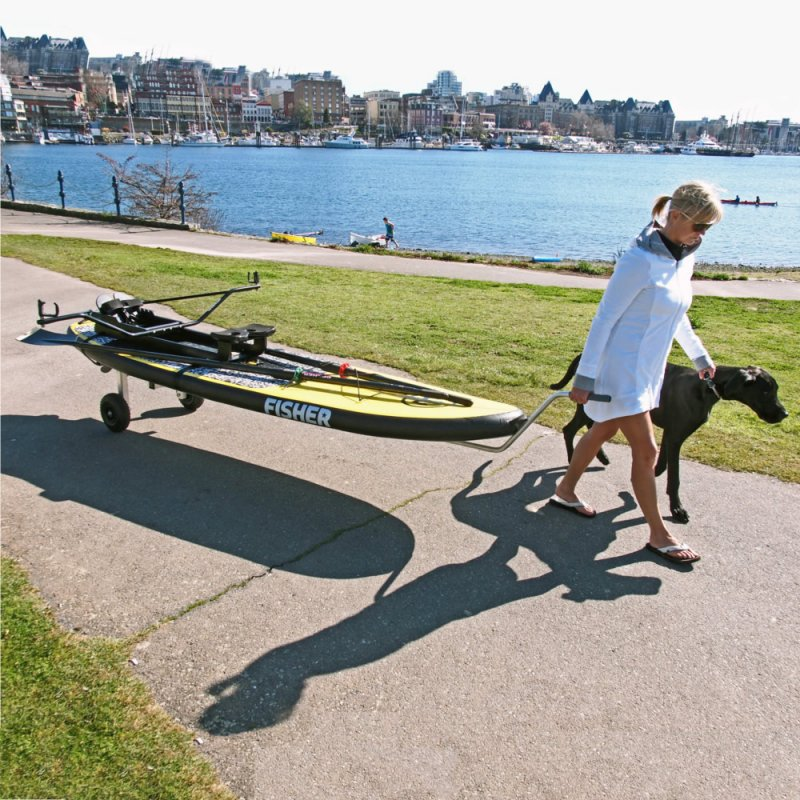 SUP Hand Dolly, Oar Board, Whitehall Rowing & Sail