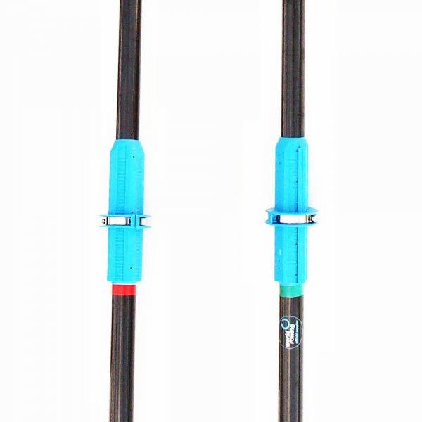 Two Part Carbon Fiber Sculling Oars, Oar Board, Whitehall Rowing & Sail