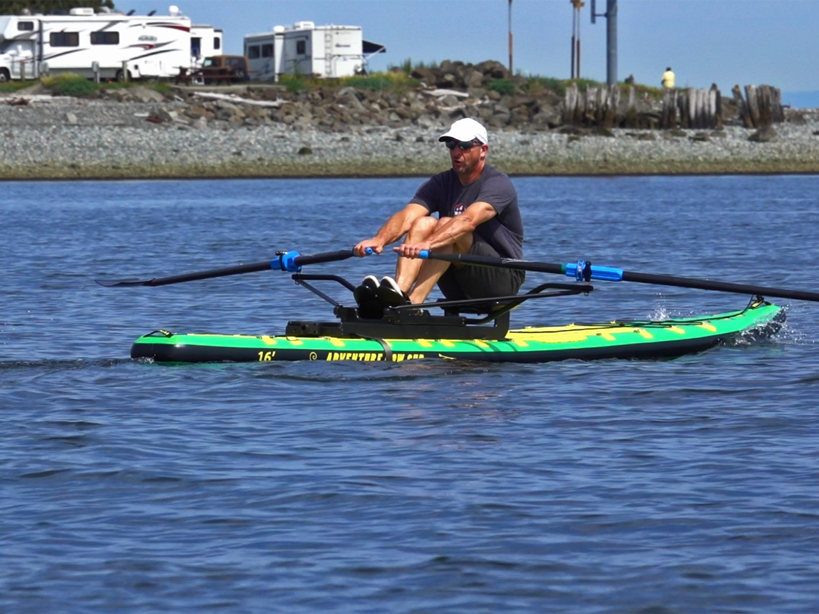 oar-board-stand-up-paddle-board-rower-whitehall-rowing-and-sail-Peter-ADV-16-SUP-Trailer-Park