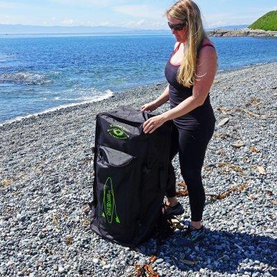 "Adventure Row SUP 13'4"" Combo Wheelie Travel Bag - Row Your Board"