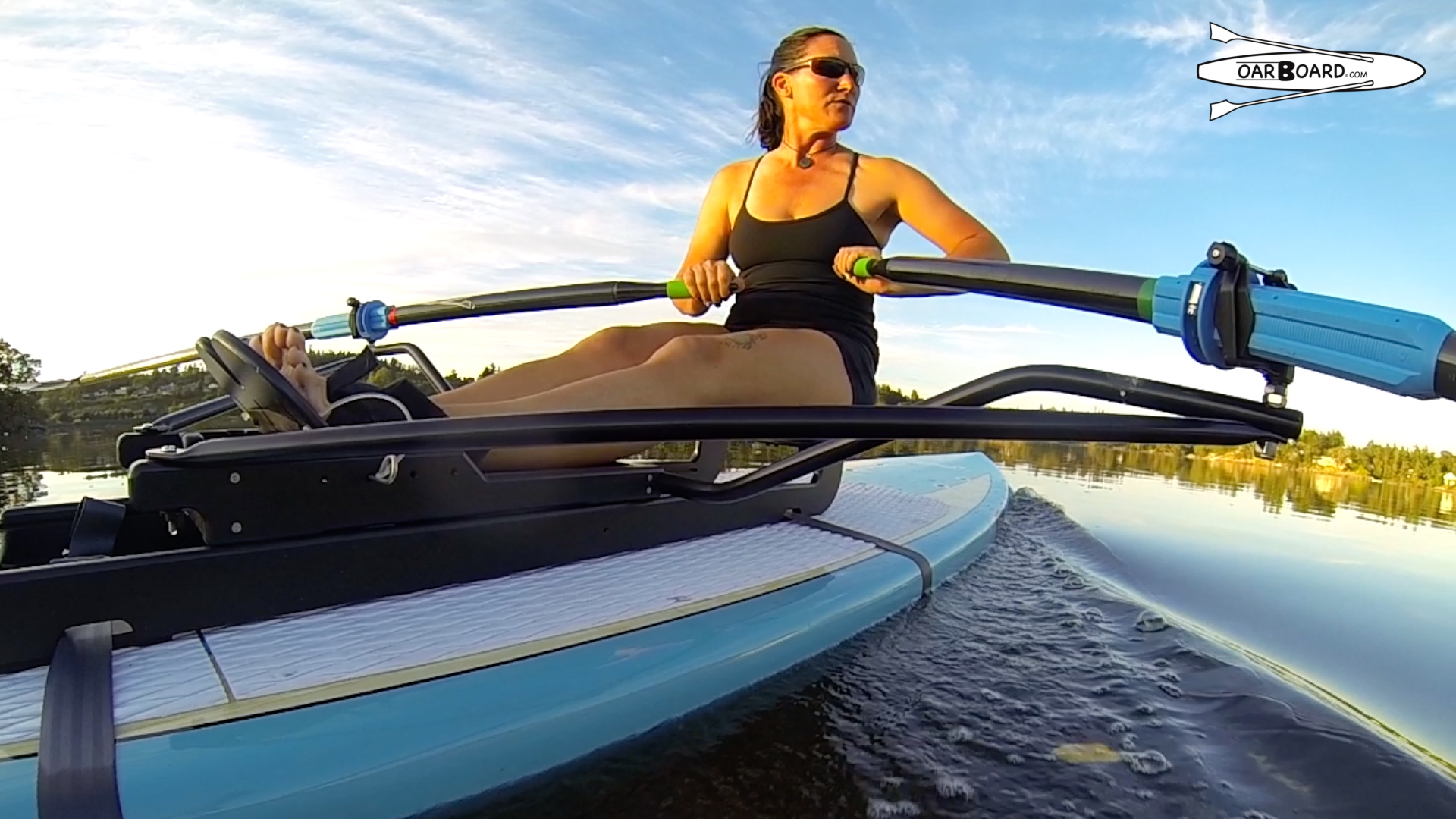 Oar Board® Rowing Fitness, Fun and Adventure