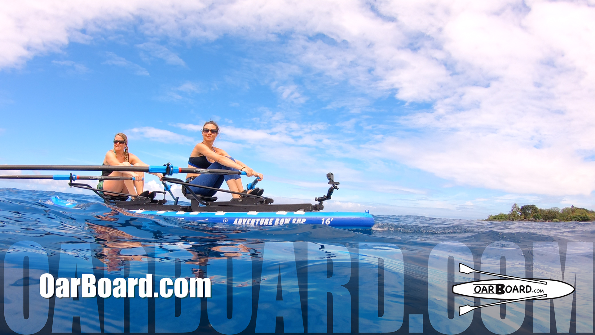 Rowing-with-Dolphins-Oar-Board-Hawaii-Row