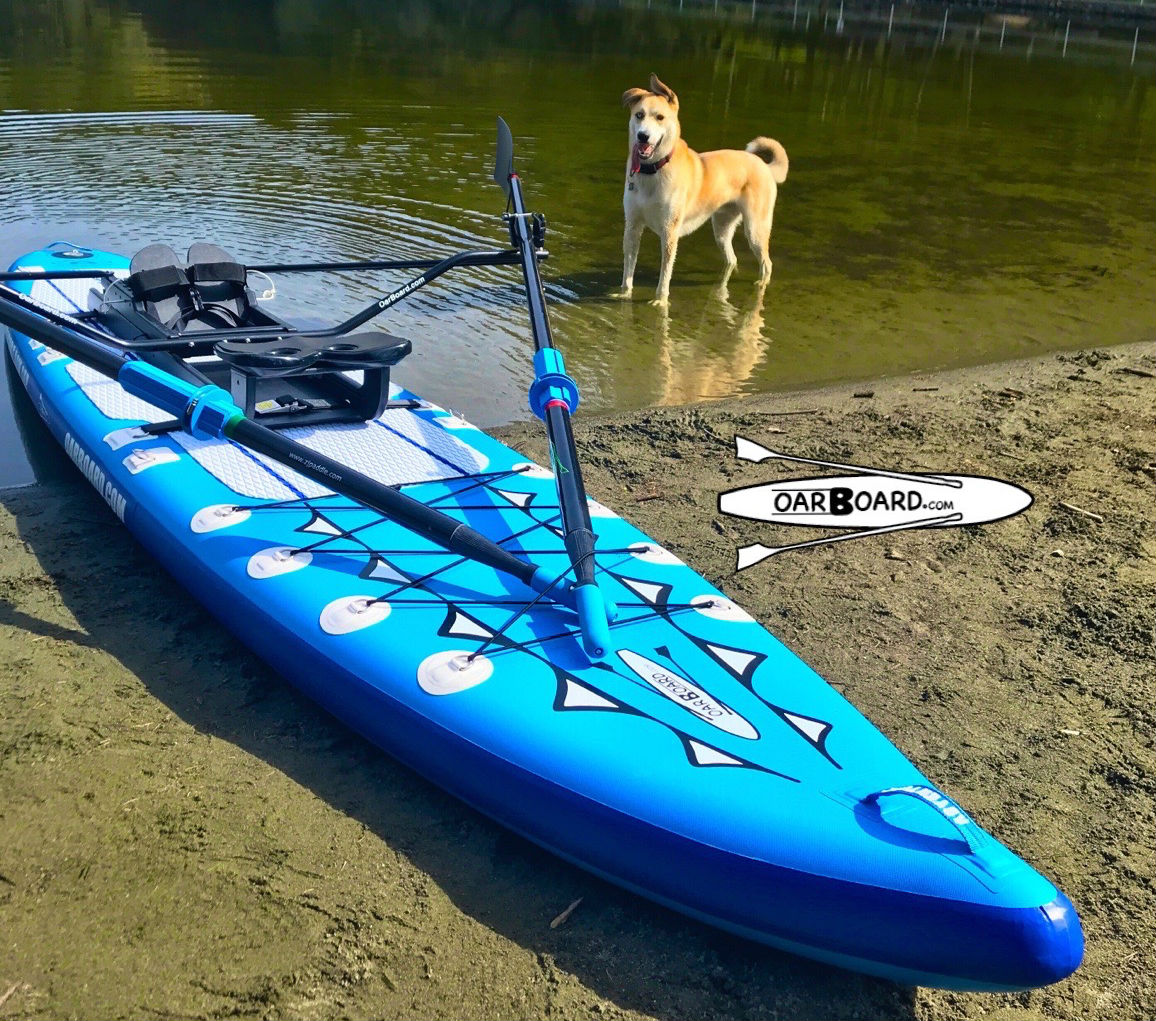 Thetis-Lake-Dog-Oar-Board-Rower