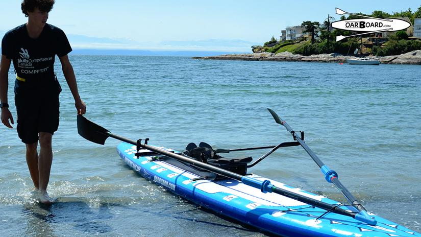Oar-Board-Gonzales-Beach-Dawson-Mork-Rowing