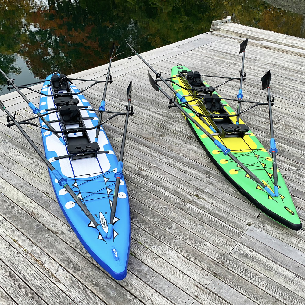 Oar Board Adventure Row 16 SUP Rower Combo fun fitness recreation sports Whitehall Rowing and Sail