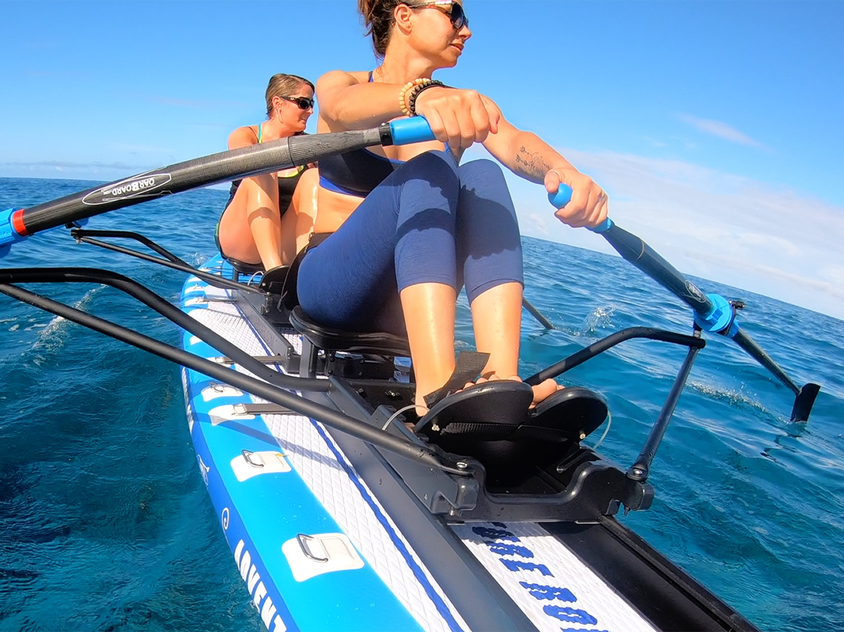 Oar-Board-Adventure-Row-16-SUP-Rower-Combo-fun-fitness-recreation-sports-Whitehall-Rowing-and-Sail