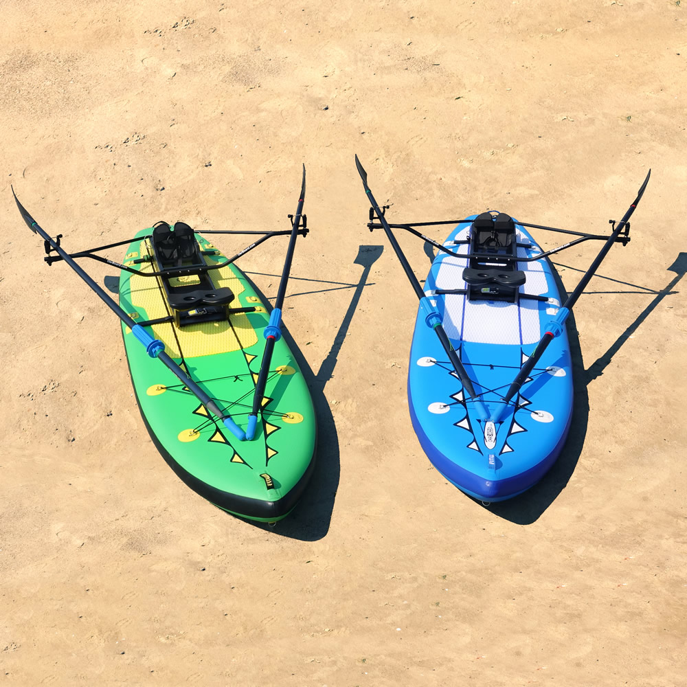 OarBoard-Fitness-Row-12-SUP-Combo-blue-green-fun-fitness-outdoor-recreation-sports-Whitehall-Rowing-and-Sail