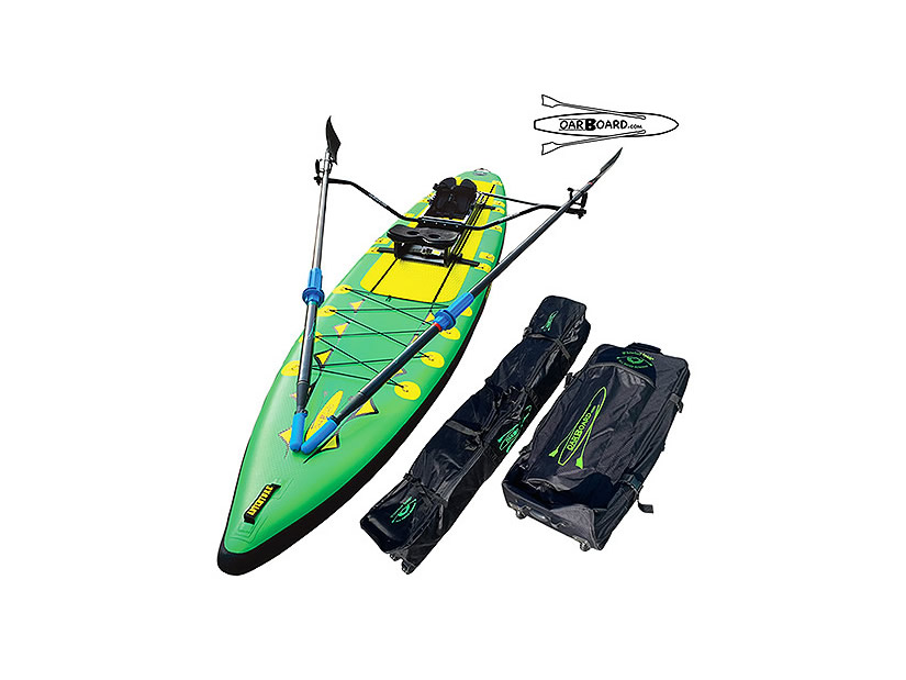 Fitness, Fun and Adventure, Oar Board® SUP Fit On Top Rower, Stand Up Paddle Board Combos, Inflatable SUP, Whitehall Rowing & Sail