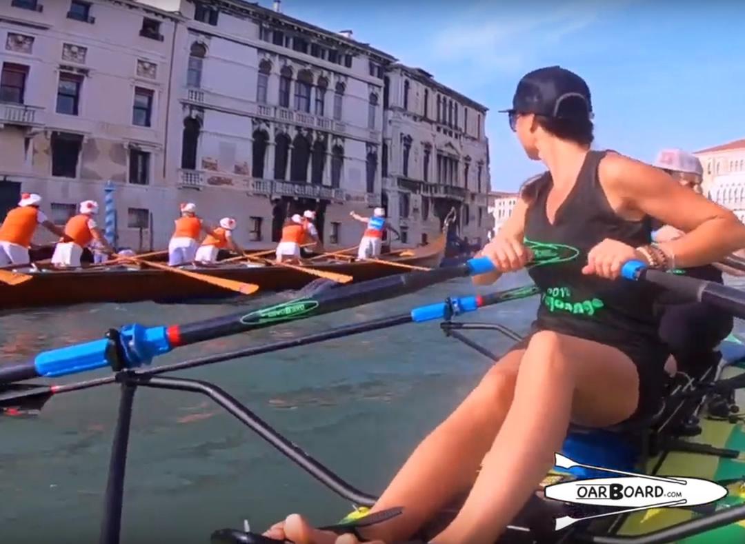 Vogalonga Regatta, Venice, Italy, Oar Board SUP