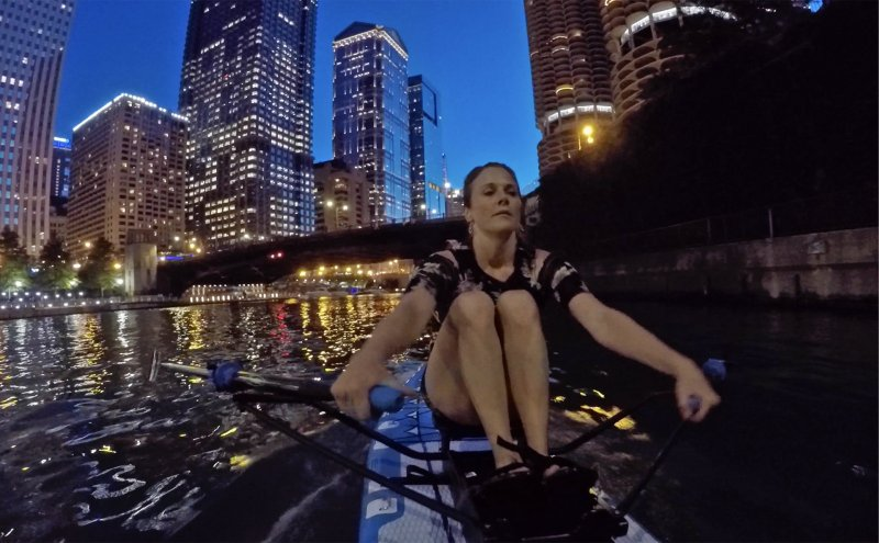 Chicago River Oar Board® Adventure, Outside Experience, Whitehall Rowing & Sail